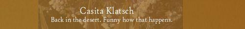 Click here for Casita Klatsch!